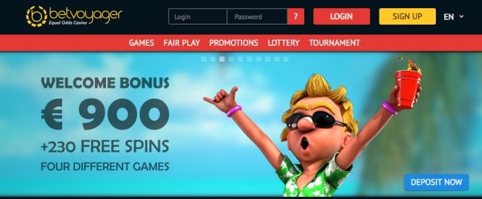 betvoyager promo code - welcome free spins